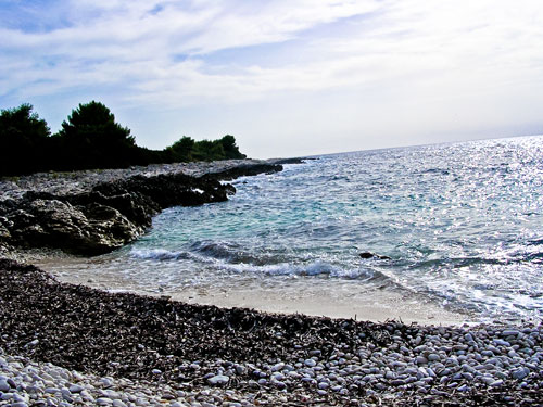 kroatien inselurlaub geheimer kiesstrand einsame bucht