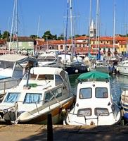 Istrien - Yachthafen Novigrad, Kroatien